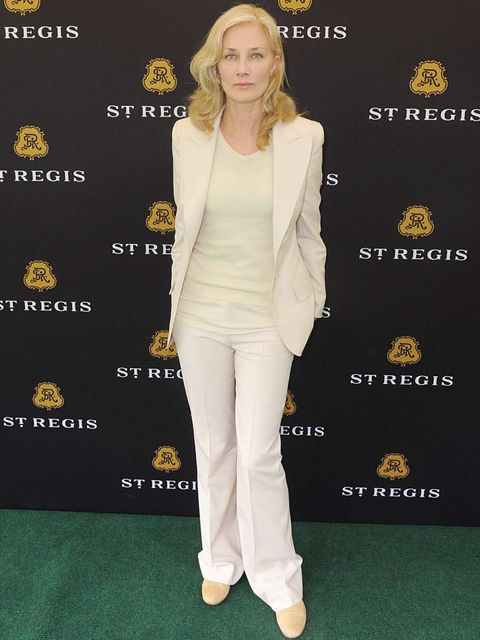 <p>Actress Joely Richardson at the St Regis Polo</p>