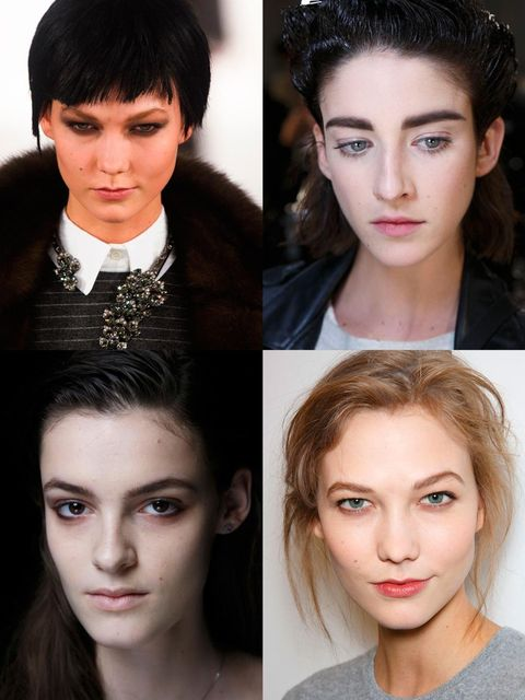 <p>We braved the freezing New York temperatures and even a blizzard to investigate the emerging beauty trends for next season. And, as usual, the Big Apple didn't disappoint.</p><p>Backstage we saw an eclectic mix of make-up looks,