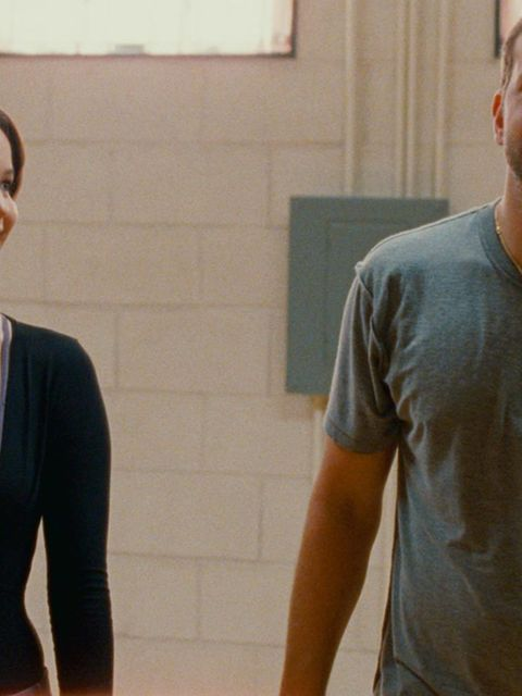 <p>Jennifer Lawrence and Bradley Cooper in 'Silver Linings Playbook' 2012. </p>