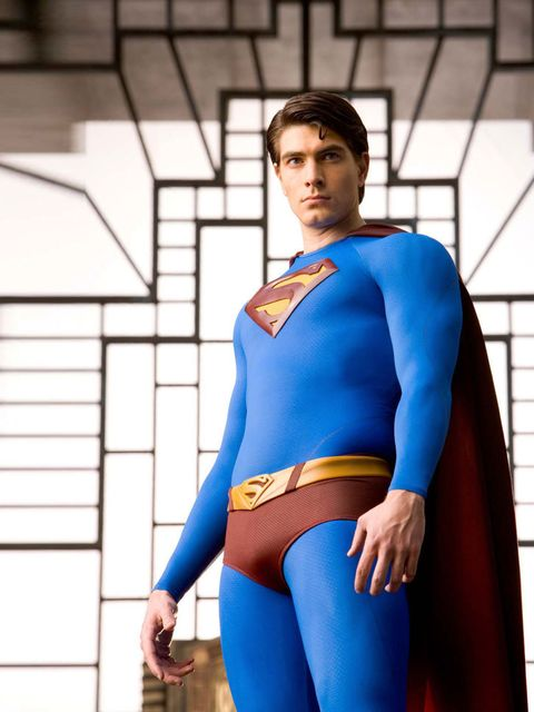 <p>Have you been working out Brandon Routh?</p>