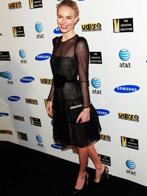 <p>Kate Bosworth at the Creative Coalition's 2012 Spotlight Initiative Gala Awards.</p>