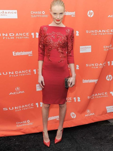 <p>Kate Bosworth at a Black Rock screening at Sundance.</p>