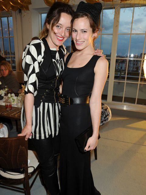 <p>Alice Temperley and Charlotte Olympia </p>