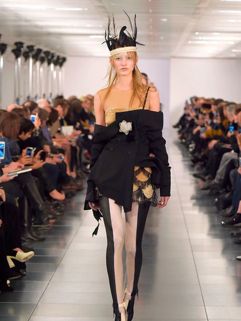 <p>Maison Martin Margiela Couture Spring 2015.</p>
