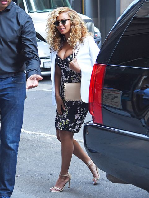 Beyoncé steps out in New York, July 2015.