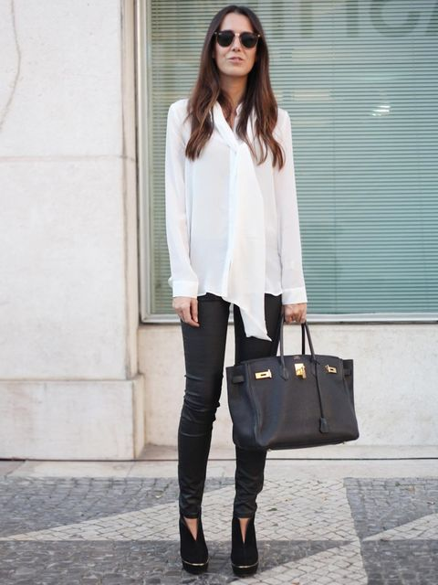 <p>Sara, Works in fashion.Hermes shirt and bag, vintage shoes.</p>