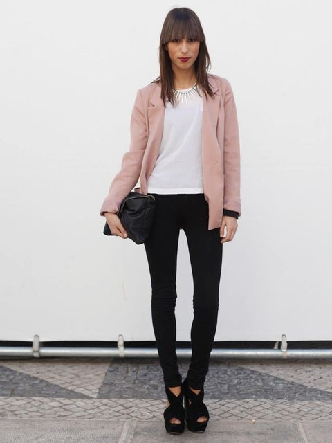<p>Sofia, Student.Bershka jacket, H&M top, vintage trousers and shoes.</p>