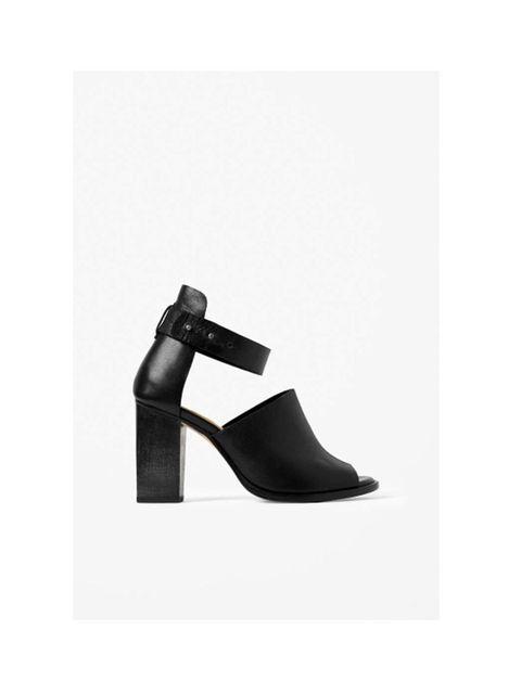 "<p>Cos, £135, <a href=""http://www.cosstores.com/gb/Shop/Women/Shoes/Wood_heel_sandals/46897-14893273.1"">cosstores.com</a></p>"