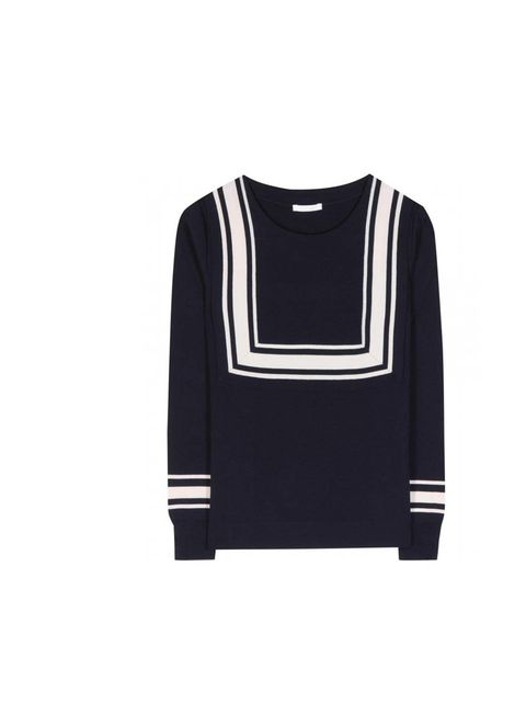 "<p>Chloé jumper, £620 at <a href=""http://www.mytheresa.com/en-gb/milano-wool-sweater.html"">MyTheresa.com</a></p>"