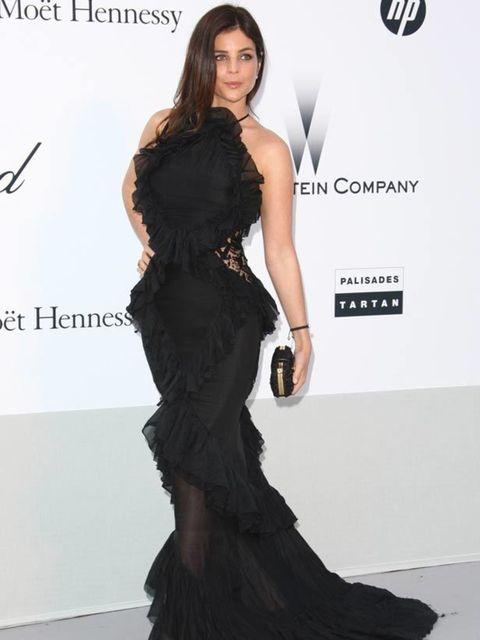 "<p><a href=""http://www.elleuk.com/starstyle/style-files/(section)/julia-restoin-roitfeld"">Julia Restoin Roitfeld</a> at amfAR's Cinema Against AIDS Gala during the Cannes Film Festival, 19 May 19 2011</p>"