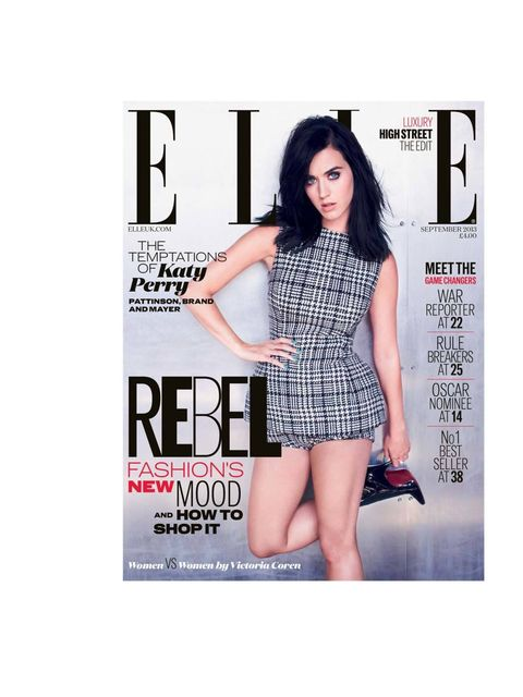 "<p><a href=""http://www.elleuk.com/magazine"">September issue on sale Wednesday 31 July</a></p><p><em><a href=""http://www.elleuk.com/elle-tv/cover-stars/elle-magazine/katy-perry-elle-behind-the-cover-video"">See Katy's behind-the-scenes cover shoot video her"