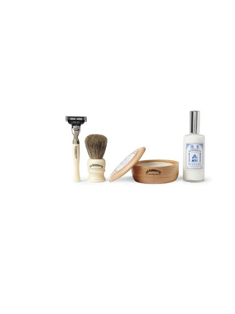 "<p>Celebrate the end of Movember (and mourn the fact that there is only one Tom Selleck in the world) with this shaving kit.</p><p>D R Harris box set, £130 exclusively at <a href=""http://www.mrporter.com/product/414315"">MrPorter.com</a></p>"