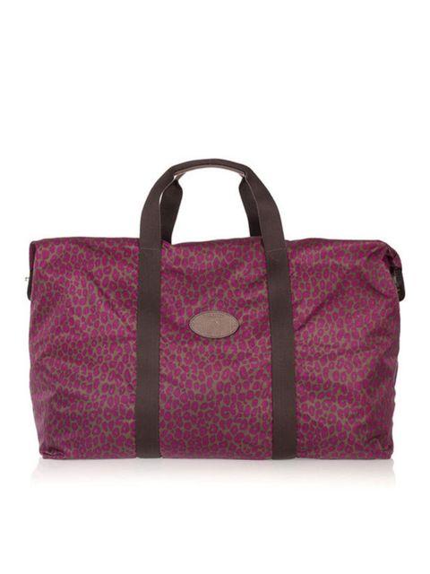 "<p>Mulberry fold-up 'Clipper' bag, £300, at <a href=""http://www.net-a-porter.com/product/162473"">Net-a-Porter</a></p>"