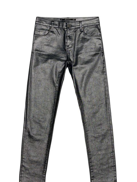 "<p><a href=""http://www.zara.com/webapp/wcs/stores/servlet/product/uk/en/zara-S2011-s/108006/387542/METAL%2BTROUSERS"">Zara</a> metallic trousers, £39.99</p>"
