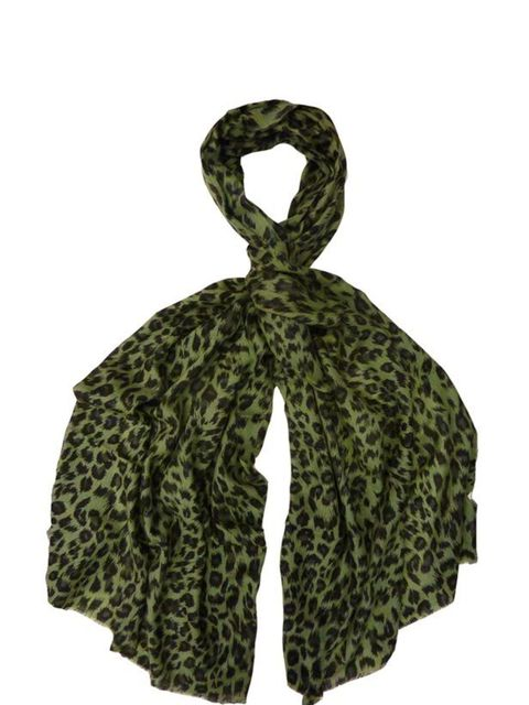 """<p>Whether you're wearing a summer dress or tailored jacket, heading to a festival or the office, this summery printed scarf will keep you looking cool… Lily and Lionel leopard print scarf, £85, at <a href=""""http://www.matchesfashion.com/"""">Matches</a></p>"""