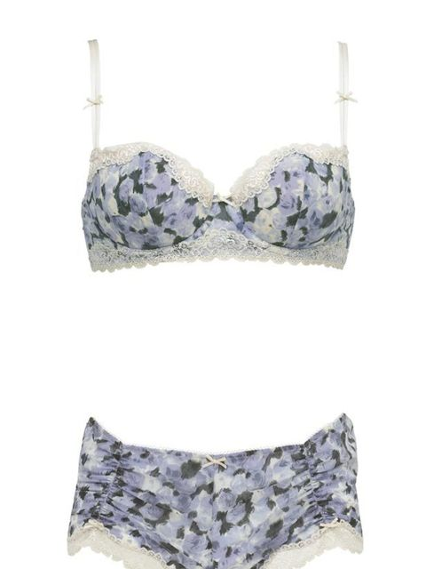 """<p>M&S has always been our go-to for lingerie essentials. And now its latest collaboration with Collete Dinnigan has thrown up some rather irresistible pieces. We'll be dashing out at lunch to get our hands on this silk set… <a href=""""http://www.marksa"""