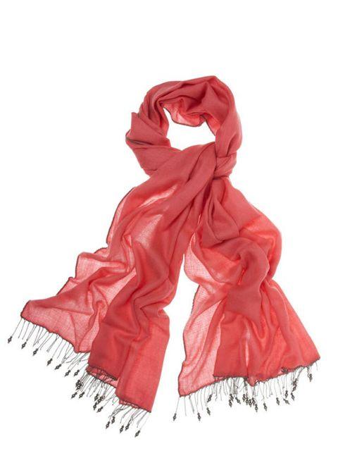 """<p><a href=""""http://www.ahilya.com/"""">Ahilya</a> 'Chains &amp&#x3B; Charms' scarf, £460 </p>"""
