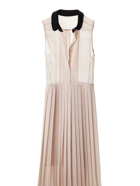 <p>Perfect for this summer's romance trend, a nude midi dress is eternally stylish and this H&amp&#x3B;M one is faultless... H&amp&#x3B;M nude plated dress, £34.99, for stockists call 0207 323 2211</p>