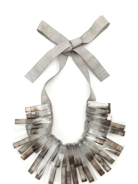<p>With the imminent opening of Nicole Farhi's new flagship store, we've been given the lucky job of taking a peek at the new and exclusive pieces it'll be stocking. Our favourite? This eye-catching statement necklace which promises to add polish to any l