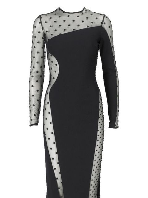 <p>Stella McCartney spotted dress, £1,525, for stockists call 0207 518 3100</p>