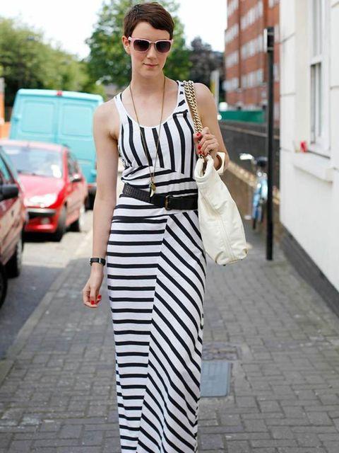 <p>Photo by Silvia Olsen.Emma Ward, 28, Stylist. Zara dress, Topshop shoes.</p>