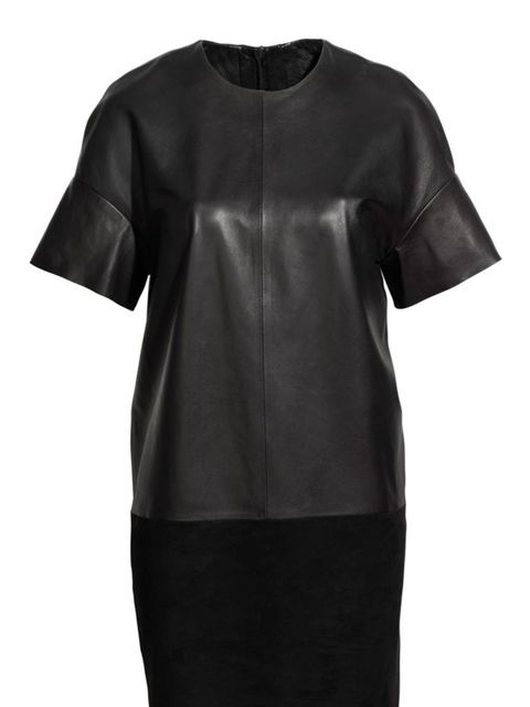 <p>With this on-trend shift in store plus a pop-up shop in Selfridges it's no wonder Leigh Lezark is creating an edit of her favourite pieces for the high street label… H&amp&#x3B;M leatehr shift dress, £79.99, for stockists call 0844 736 900</p>