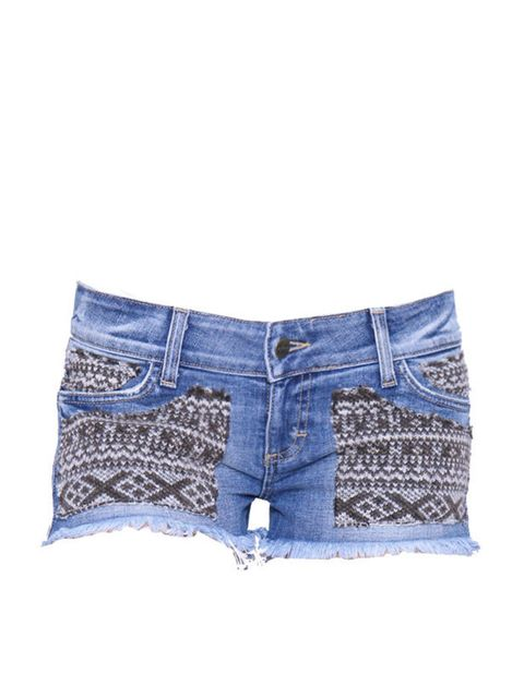 <p>Winter stock is quickly filling the rails but thanks to Siwy, your Bestival wardrobe is sorted with these Aztec infused cut-offs… Siwy denim shorts, £175, for stockists call 0207 631 0928</p>