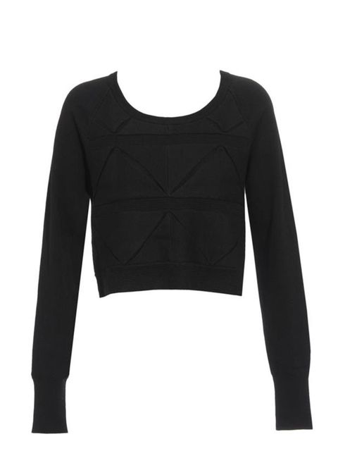 "<p>3.1 Phillip Lim cropped knit jumper, £365, at <a href=""http://www.brownsfashion.com/Product/Women/Women/Clothing/Knitwear/Wool_sweater_with_origami_folds/Product.aspx?p=3256829&pc=1949756&cl=4"">Browns Fashion</a></p>"