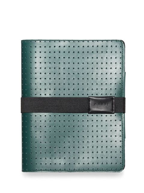 <p>Marni perforated leather iPad case, £234, for stockists call 0207 245 9520</p>