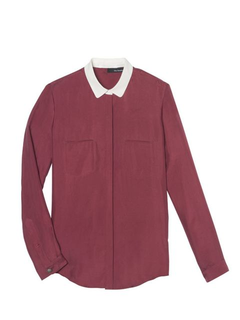 <p>The Kooples contrast collar shirt, £130, for stockists call 0207 589 7696</p>