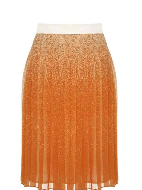"<p>Pretty, flirty and just down-right covetable, you can wear with this gorgeous skirt with bare legs and a white tee for now and switch to opaques and chunky knits later in the season… Club Monaco pleated skirt, £170, at <a href=""http://www.brownsfashion"