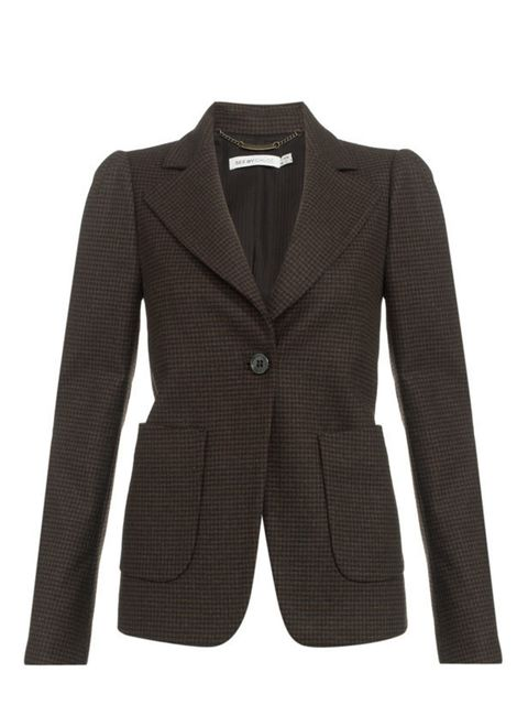 "<p>See by Chloé tweed jacket, £499, at <a href=""http://www.harrods.com/product/see-by-chloe/tweed-blazer/000000000002460708?dept=az&amp&#x3B;cat1=b-see-by-chloe&amp&#x3B;cat2=b-see-by-chloe-all"">Harrods</a></p>"