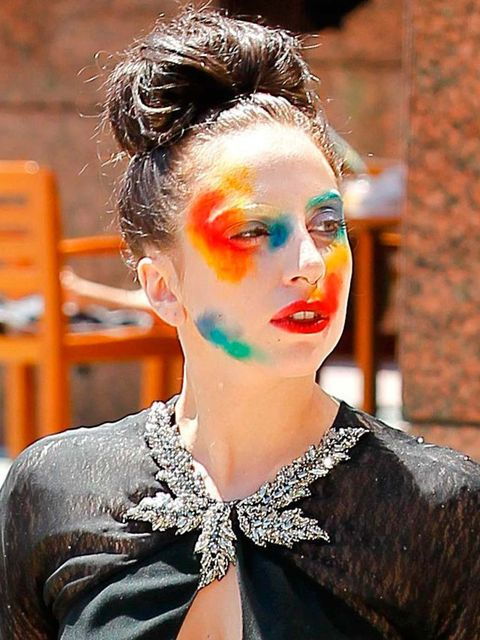 <p>Lady Gaga out-and-about in Los Angeles</p>