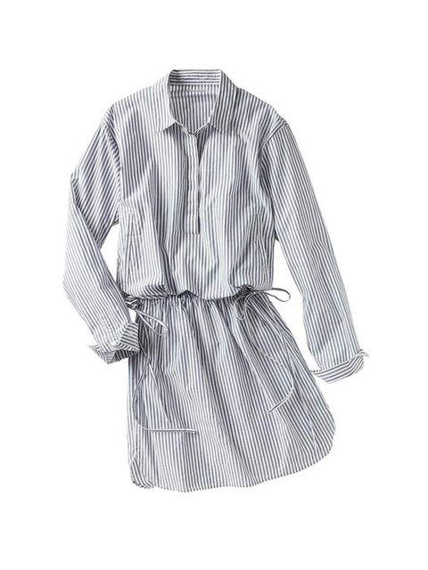 "<p>Wear this lightweight cotton shirtdress with tan leather flat sandals for low-key summer style.</p><p><a href=""http://www.gap.co.uk/browse/product.do?cid=1008651&vid=1&pid=000941919001"">Gap</a> dress, £39.95</p>"