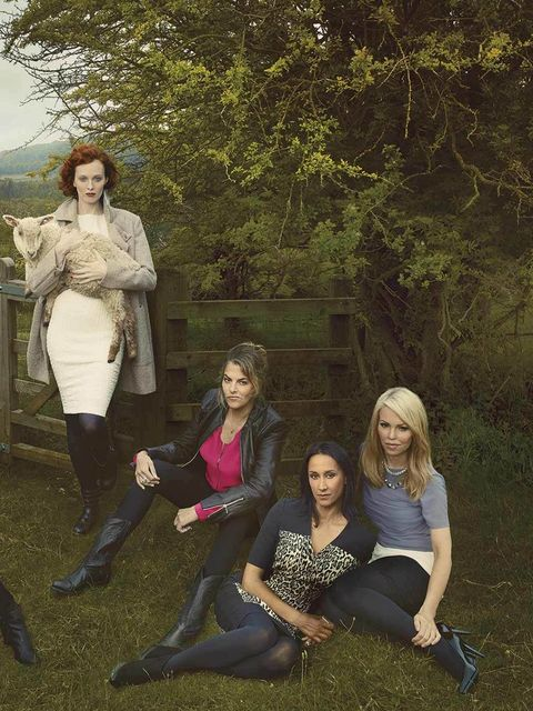 <p>'Meet Britain's Leading Ladies' shot by Annie Leibovitz for Marks & Spencer</p>
