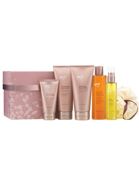 "<p><strong><a href=""http://www.boots.com/en/No7-Indulgent-Bathing-Gift-Set_1440800/"">No.7 Indulgent Bathing Gift Set, £25.00 </a></strong></p><p>Chances are this will appeal to the advertising hype believer in all mothers everywhere. That aside, the proof"