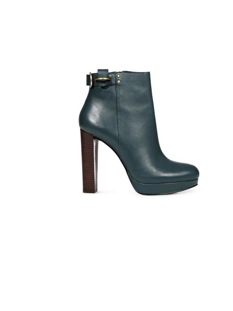 "<p><a href=""http://www.reiss.com/womens/shoes/boots/bailly/petrol/"">Reiss</a> 'Bailly' ankle boot, £195</p>"