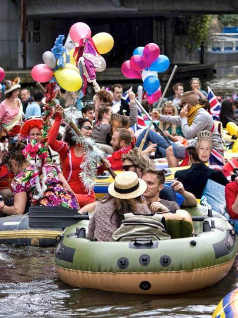 <p>Grab a drink and a boat and head down to Regent's Canal this weekend for 'the first and only floating carnival', aptly named Canalival. There will be DJs, dancers and decorated boats for you to drift along the canal in. Bring on the waterborne fun! The
