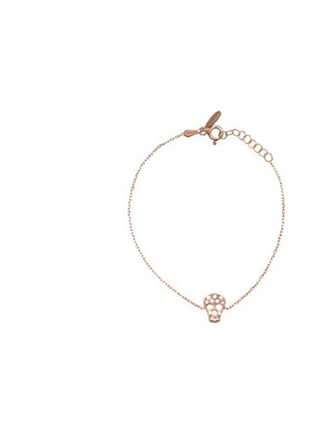 "<p>Pretty yet subversive, this delicate charm bracelet will add a directional feel to your everyday look… Aamaya by Priyanka skull charm braceet, £110, at Matches</p><p><a href=""http://shopping.elleuk.com/browse?fts=aamaya+skull+bracelet"">BUY NOW</a></p>"