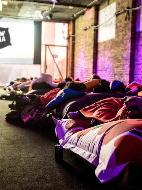 <p>FILM: Pillow Cinema, Shoreditch</p>  <p>Now, we like a trip to the multiplex as much as the next person. But don't you ever find yourself thinking: 'What's with all this sitting upright? EFFORT.' Well, good news, fellow lounging fans: the Pillow Cinema