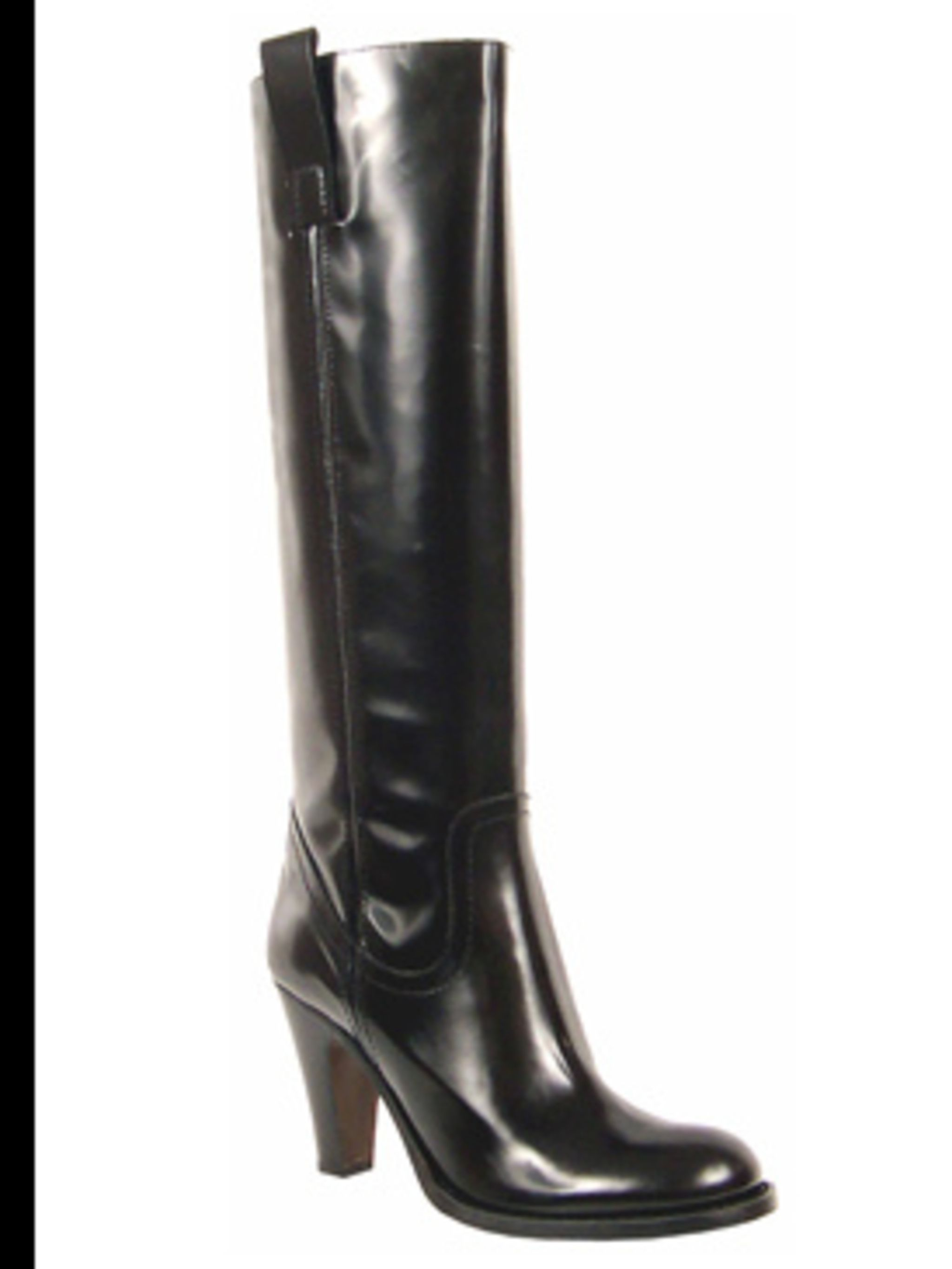 <p>'Fry-Baby' boot £215 by Russell and Bromley, for stockists call (020) 7629 6903</p>