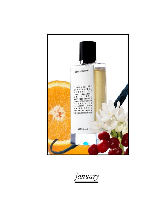 <p>This niche Swedish fragrance brand uses only 100% natural ingredients and Agonist is a welcome antidote to those icy, dark days in winter in bleak January. Brazilian Orange and Red Bilberries give you a much needed boost before Indian Sandalwood and Bo