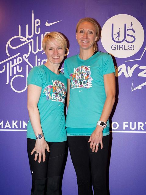 <p>Paula Radcliffe  - @paulajradcliffe</p><p>'Well done to all who ran tonight in Victoria Park. We owned the night! #ellerunning #nikeuk #weownthenight'</p>