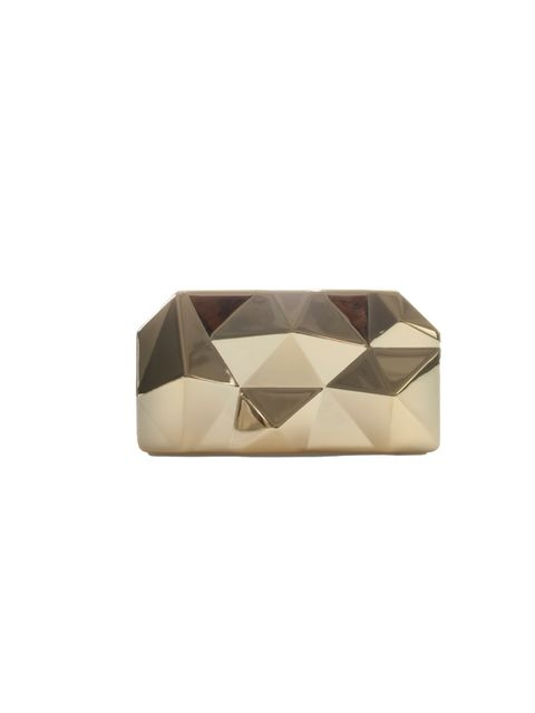 "<p><a href=""http://www.zara.com/webapp/wcs/stores/servlet/product/uk/en/zara-neu-W2012/269200/997028/SMALL%20METAL%20BOX%20CLUTCH"">Zara</a> geometric metallic clutch, £39.99</p>"