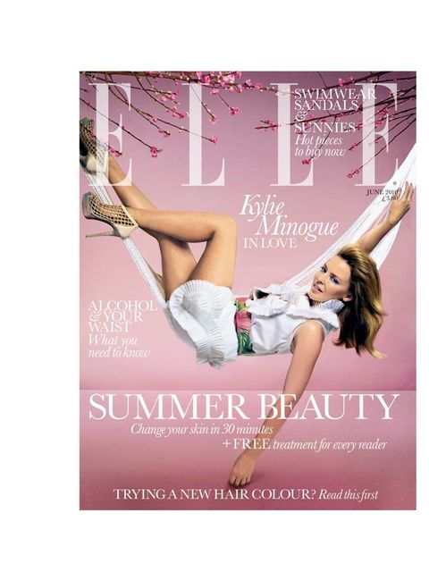 "<p>June 2010</p><p><em><a href=""http://www.elleuk.com/elle-tv/cover-stars/elle-magazine/behind-the-cover-kylie-minogue"">Go behind the scenes with Kylie</a></em></p>"