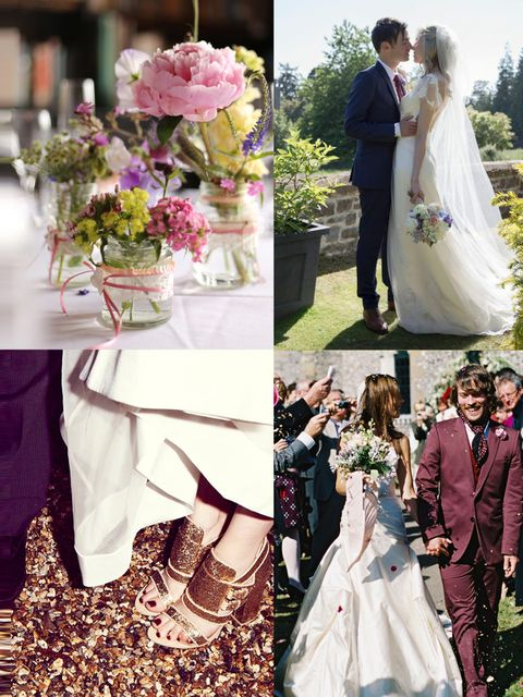 <p><strong>ELLE Weddings</strong><em>Pictures and tips to inspire...</em></p><p>If you're planning a wedding, or even if you're not, poring over beautifully styled wedding pictures can prove quite addictive.</p><p>But how do fashion girls do weddings? Fro