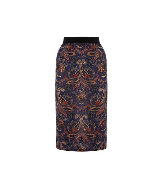 "<p>Warehouse paisley print pencil skirt, £25</p><p><a href=""http://shopping.elleuk.com/browse?fts=warehouse+paisley+skirt"">BUY NOW</a></p>"