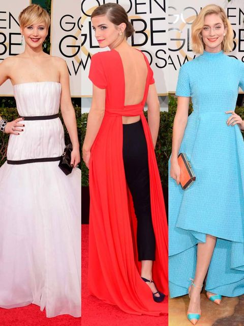 """<p>ELLE's Fashion Director, Anne-Marie Curtis, picks her ten best dressed from the Golden Globes 2014.</p><p><a href=""""http://www.elleuk.com/star-style/red-carpet/golden-globes-2014-celebrity-red-carpet-dresses-annual-awards-ceremony"""">Red carpet arrivals</"""
