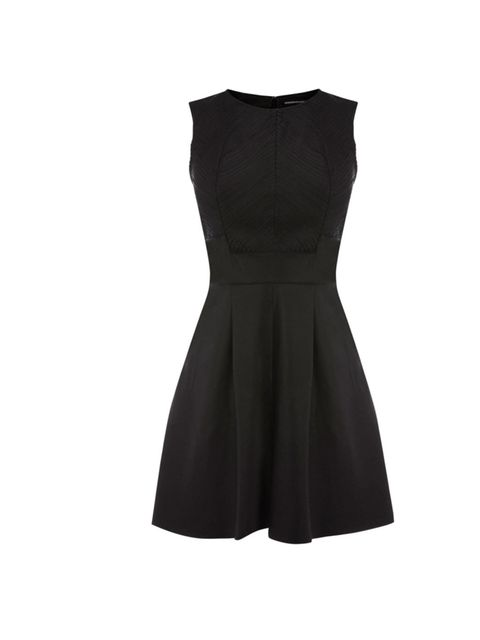 """<p>All wardrobes require an LBD, so if you're in the market for a new one may we suggest this playful skater number… <a href=""""http://www.warehouse.co.uk/leather-fringe-detail-full-dress/New-In-Clothing/warehouse/fcp-product/307314"""">Warehouse</a> leather s"""