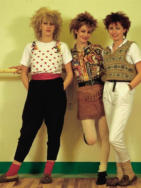 <p><strong>Kirsty Dale, Executive Fashion Director</strong>Bananarama – I dressed up like Karen for a school drama class once.</p>